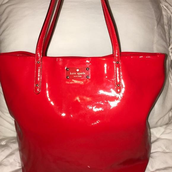 kate spade Handbags - Kate Spade ♠️ Ted Patent Leather Tote Purse